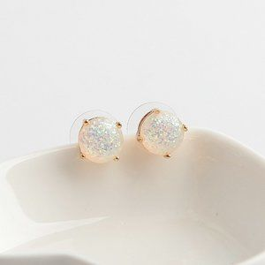 Kate Spade Round Color Resin Sequin Round Earrings